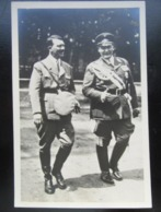 Propaganda Postkarte Hitler Mit Goering 1938 + Sonderstempel - Allemagne