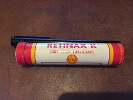 20C - Shell Retinax K Stick Lubricant Shell Oil Company New York USA - Andere Verzamelingen