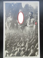 """Propaganda Postkarte Hitler Mit """"Blutfahne"""" Und Jakob Grimmiger - Frühe Karte Aus 1932 - Heinrich Hoffmann - Germany"""