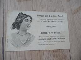 CPA Pu Publicité Alcool De Menthe Miata Dents Dentiste Arlésienne - Publicité