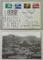 Cartolina Illustrata Lenzerheide-Padova - 18/07/1952 - Suisse