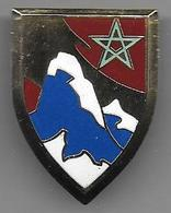 Insigne à Identifier - Insigne émaillé  L.M.I. - Esercito