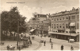 Utrecht, Vredenburg Met Haagsche Koffyhuis 1919 - Utrecht