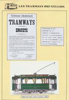 """Tramways Bruxellois - Page De Collection : Affiche + Réduction """"Commune D'Anderlecht - Tramways Enquête"""" (27/11/03) - Affiches"""