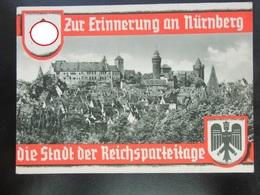 Propaganda Postkarte Reichsparteitag 1936 - Germany