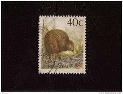Nieuw-Zeeland Nouvelle-Zélande New Zealand  Brown Kiwi  Décentralisé Yv 1014 O - Kiwi