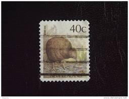 Nieuw-Zeeland Nouvelle-Zélande New Zealand  Brown Kiwi T: 13,5 Yv 1014a O - Kiwi