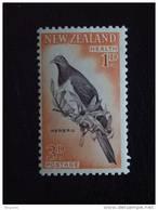 Nieuw-Zeeland Nouvelle-Zélande New Zealand Health  Kereru Duif Colombe Dove Yv 403a MNH ** - Columbiformes