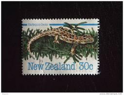 Nieuw-Zeeland Nouvelle-Zélande New Zealand  Gecko Yv 873 O - Autres