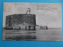 17 : ILE D'OLERON : Le FORT BOYARD Entre L'ILE D'AIX Et L'ILE D'OLERON , CPA , En Bon état - Ile D'Oléron