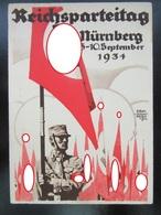Propaganda Postkarte Reichsparteitag 1934 - Allemagne