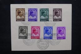 BELGIQUE - Oblitération 1er Jour En 1936 Sur Enveloppe - Prince Baudouin - L 52048 - ....-1951
