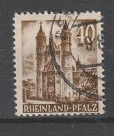 Franzoesische Zone-Rheinland Pfalz / 1948 / Mi. 39 O (AB43) - Zona Francesa