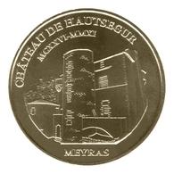Monnaie De Paris , 2011 , Meyras , Château De Hautségur - Monnaie De Paris