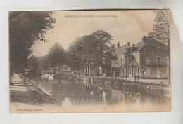 LOT 18012030 CPA MONTCEAU LES MINES (Saone Et Loire) - Le Canal à Lurcy - Montceau Les Mines