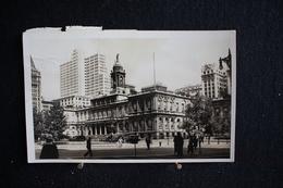 JA 86 -  Amérique - Etats-Unis - New York - City Hall - Circulé 1948 - Timbres Dépassent La Carte - New York City