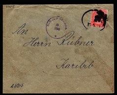 A6524) UK South Africa Brief Windhoek Apt. Bahnpoststempel Zensur - Storia Postale