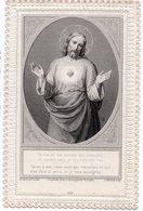 PROMESSE FAITES PAR N S JESUS CHRIST A LA BIENHEUREUSE MARGUERITE MARIE ALACOQUE  CANIVET XIXéme - Images Religieuses