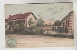 LOT 18012030 CPA MILITAIRE SAINTE MENEHOULD (Marne) - Quartier De Cavalerie Cercle Des Sous Officiers Et Innfirmerie - Sainte-Menehould