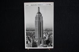 JA 87 -  Amérique - Etats-Unis - New York - Empire State Blg N.Y - Circulé 1947 - - Empire State Building