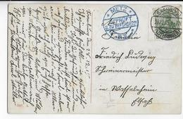 MOSELLE ALLEMANDE - 1915 - CARTE De SAARBURG => METZ Avec CENSURE LOCALE SUP ! - Postmark Collection (Covers)