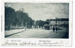 Bruxelles   Place Du Trone    Tram      1900  Wylande - Autres