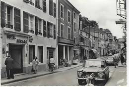 52 ( Haute Marne ) - BOURBONNE Les BAINS - Hotel HERARD Et Grande Rue - Bourbonne Les Bains