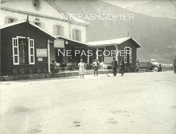 COL Du LAUTARET 1928 Poste Restaurant Grande Photo 21 X 28 CmHautes-Alpes 05 - Luoghi