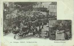 Dordogne SARLAT  Un Marché Aux Noix  Enoiseuse En Sarladais RV - Sarlat La Caneda