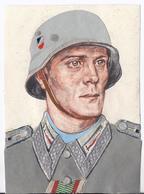 """DT- Reich (002591) Propagandakarte """"Tag Der Wehrmacht """" Gaukulturpreisträger 1940, Gelaufen,seltene Karte Ist 2. Wahl!! - Alemania"""