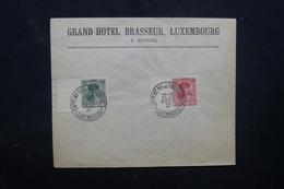 LUXEMBOURG - Oblitération De L 'Exposition Internationale De Philatélie En 1922 Sur Enveloppe  - L 52066 - Covers & Documents