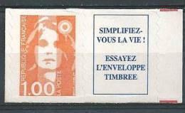 France 1996 Timbre Adhésif Neuf Avec Vignette  Se Tenant ** Issus De Carnet N° 3009a Cote 5 Euros - France
