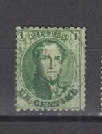 COB 13A Oblitération Centrale Double Cercle NIEUPORT - 1863-1864 Medallions (13/16)