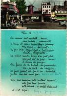"75 .. PARIS ..CINEMA .. FILM .. "" LA CHATELAINE DU LIBAN ""  .1961 . FLAMME CHEQUE POSTAL A VUE .. - Manifesti Su Carta"