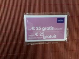 GSM Card Proximus Belgium New With Blister 2 Scans  Rare - Cartes GSM, Recharges & Prépayées