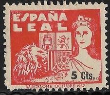Barcelona Allepuz Nr. 173 - Nationalistische Ausgaben