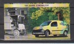 "Österreich 2013: Block ""EUROPA - E-Mobilität"" Postfrisch (siehe Foto/Scan) - 1945-.... 2ème République"