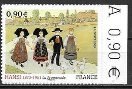 France 2009 Timbre Adhésif Neuf  N° 370 Hansi Cote 12 Euros - Adhesive Stamps