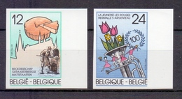 2184/2185 FOLKLORE  ONGETAND   POSTFRIS** 1985 - België