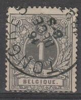 COB N°  43 Oblitération TONGRES - 1869-1888 Lion Couché
