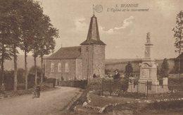 Wanne - Trois-Ponts - L'Eglise Et Le Monument - 2 Scans - Trois-Ponts
