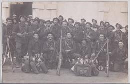ALBERTVILLE (?) - Carte-photo Militaire Du 22 E BCA Bataillon De Chasseurs Alpins - Albertville