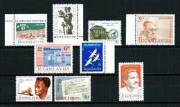 Yugoslavia LOTE (8 Series)** Cat.10€ - Jugoslawien