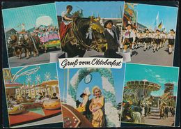 D-80331 München - Oktoberfest 1981 - Karussell - Nice Stamp - Muenchen