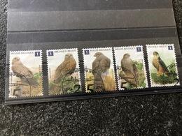 Belgie Andre Buzin Birds FDC USED 4030/34 Ex BL182 RR - 1985-.. Oiseaux (Buzin)