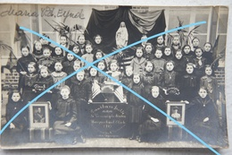Photo ASSE Region Ternat Affligem School Tanks To President Wilson USA 1914-18 Ecole Enseignement - Lieux