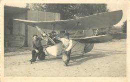 BELLE CARTE PHOTO AVION - Avions