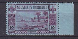 NOUVELLES - HEBRIDES : N° 111 ** . BDF . TB . 1938  . ( CATALOGUE YVERT ) . - Unused Stamps
