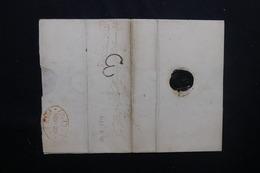 Lettre Ancienne De 1819 à Identifier - L 52085 - Non Classificati