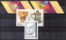 Polonia Series Completa Nº Yvert 3988/89+3990/91+3992 ** - 1944-.... República